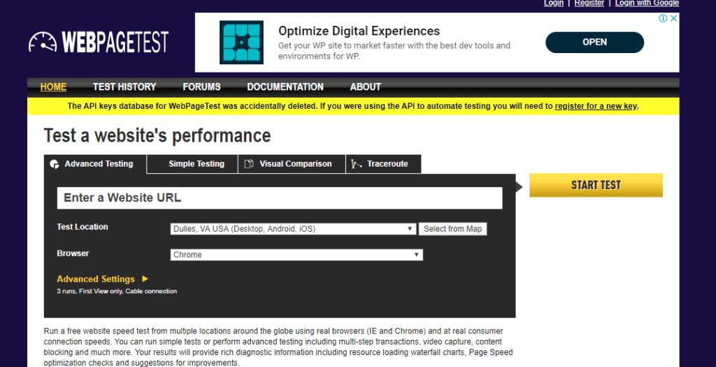 сервис для проверки скорости сайта